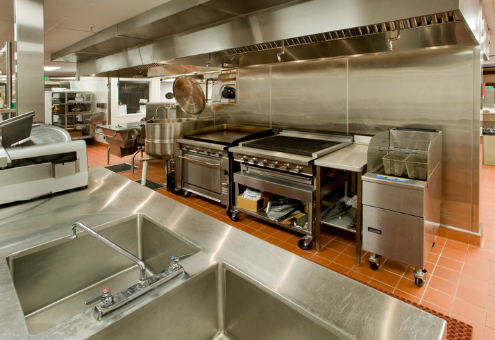 A Commercial Kitchen Demands Good Flow