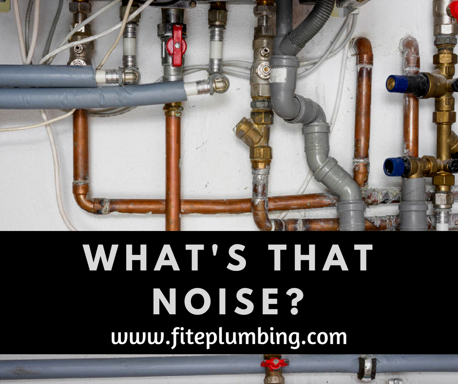 Common plumbing noises can lead to problems. It's best to know what is causing them.