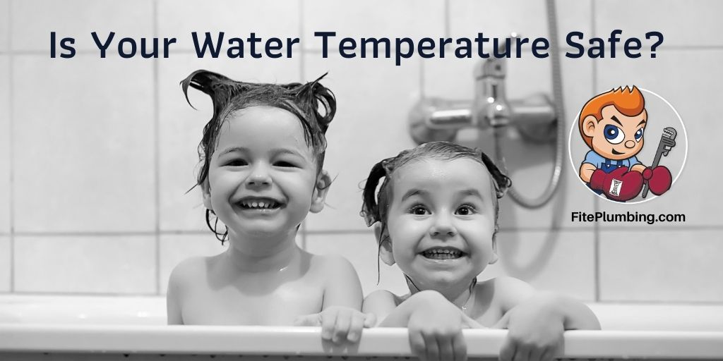 Water temperature is a matter of safety.